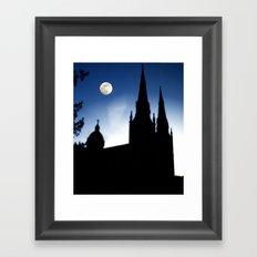 Church Faith Framed Art Print