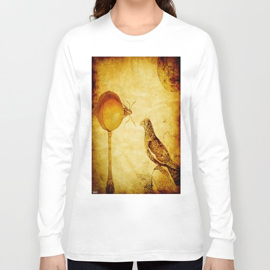The lemon and the crow Long Sleeve T-shirt