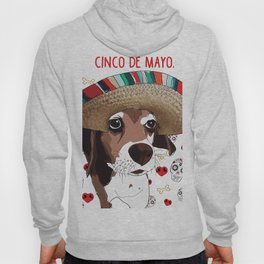 Cinco de Beagle Hoody