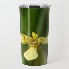 Yellow Walking Iris Travel Mug