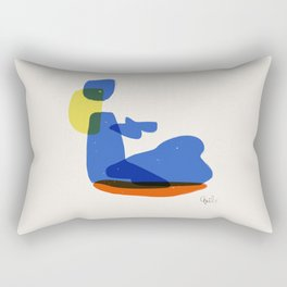 Bather 4 Rectangular Pillow