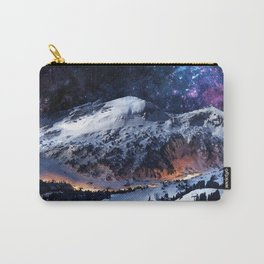 Mountain CALM IN space view Carry-All Pouch