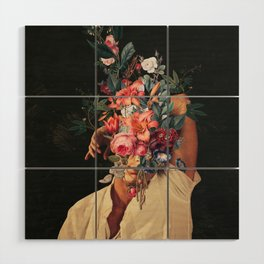 Roses Bloomed every time I Thought of You Wood Wall Art