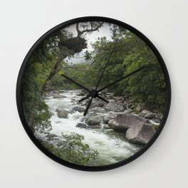 Mossman Gorge Wall Clock