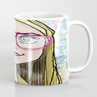 chemistry Mugs featuring chemistry whiz by grapeloverarts