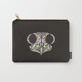 """Búho"" Sugar Skull Owl Tattoo Art Carry-All Pouch"