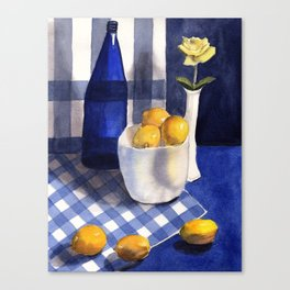 Still Life with Lemons Canvas Print