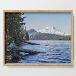 South Sister from Sparks Lake Serving Tray