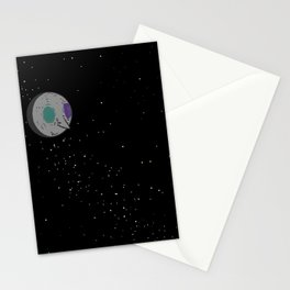 Man in the Moon Stationery Cards
