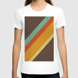 Retro 70s Color Palette T-shirt