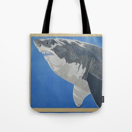 Fool Like You For Breakfast- Great White Shark Tote Bag
