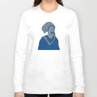 headdress Long Sleeve T-shirts featuring Headdress by Addison Karl