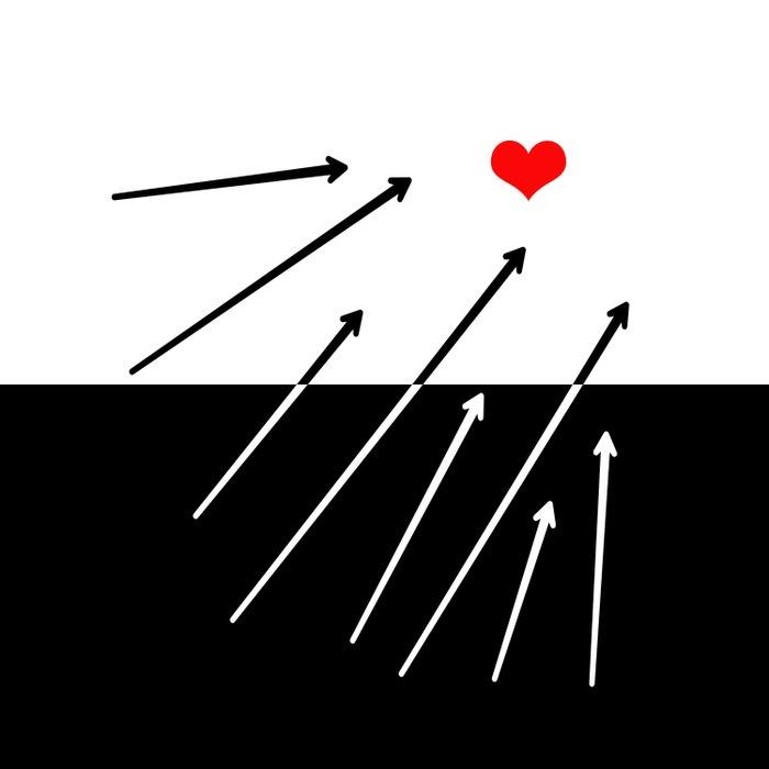 heart. Duvet Cover