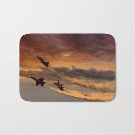 flight of angels Bath Mat
