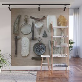 A Compass and Antlers and Artifacts, OH MY! Wall Mural