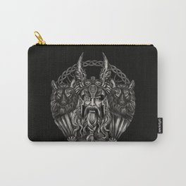 Odin and his wolves Geri and Freki Carry-All Pouch