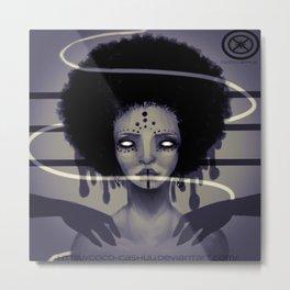 Afrocentric Dream Metal Print