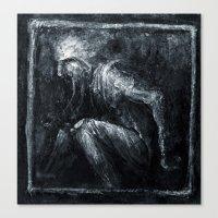 jack frost Canvas Prints featuring Jack Frost by Kadvit