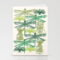 insects Stationery Cards featuring Insects by nkpappas