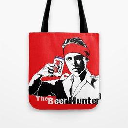 The Beer Hunter Tote Bag