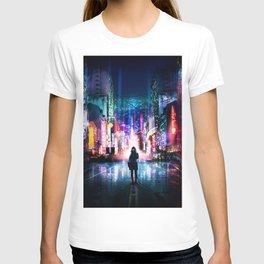 Tokyo Cyberpunk Japan T-shirt