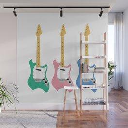 Strumming the guitar! Wall Mural