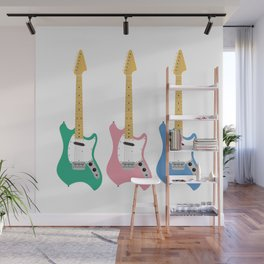 Strumming the guitar! Wall Mural