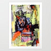 KINGDUNCE Art Print