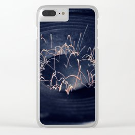 music, band, sound, speakers, rock, metal, frequency Clear iPhone Case