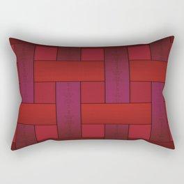 Ribbon weaving Rectangular Pillow