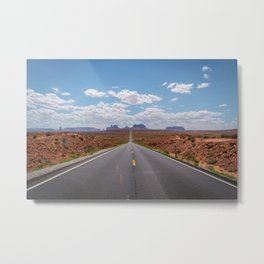 Highway 163, Monument Valley Metal Print