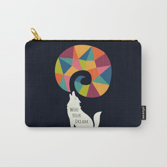 Woo Your Dream At Night Carry-All Pouch