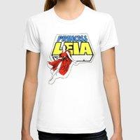 princess leia T-shirts featuring Princess Leia by Popp Art