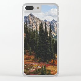 Autumn in North Cascades Clear iPhone Case