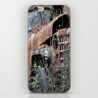 jeep iPhone & iPod Skins featuring Vintage Jeep by Victoria Rushie