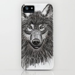 Wolf // #ScannedSeries iPhone Case