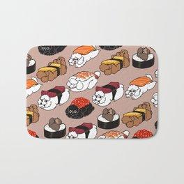Sushi Poodle Bath Mat