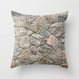 Stone texture Throw Pillow