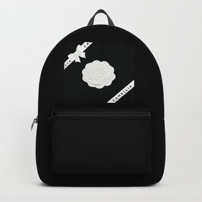 camellia with bow Rucksack