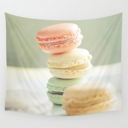 Pretty Macarons Wall Tapestry