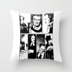 Cushing Horrors Throw Pillow