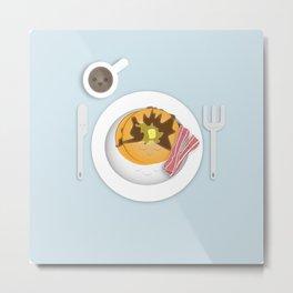 Breakfast Time! Metal Print