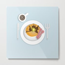 Breakfast Time! Metal Print