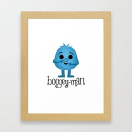 Boogey-man Framed Art Print