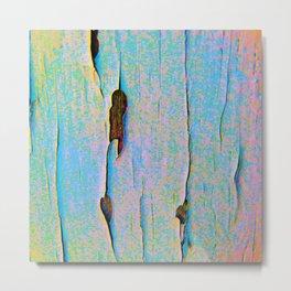 Woodscape Pastel Metal Print