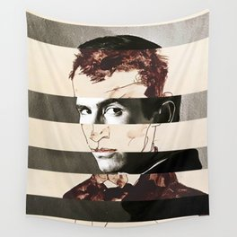 Egon Schiele's Self Portrait & Anthony Perkins Wall Tapestry