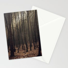 Winter magic forest Stationery Cards