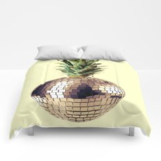 ananas party (pineapple) Comforters