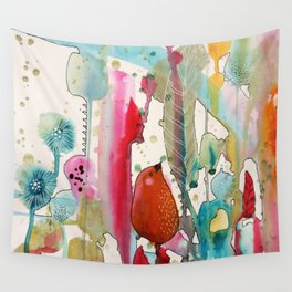 jouons aux bois Wall Tapestry