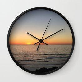 Sunset Cliffs Wall Clock